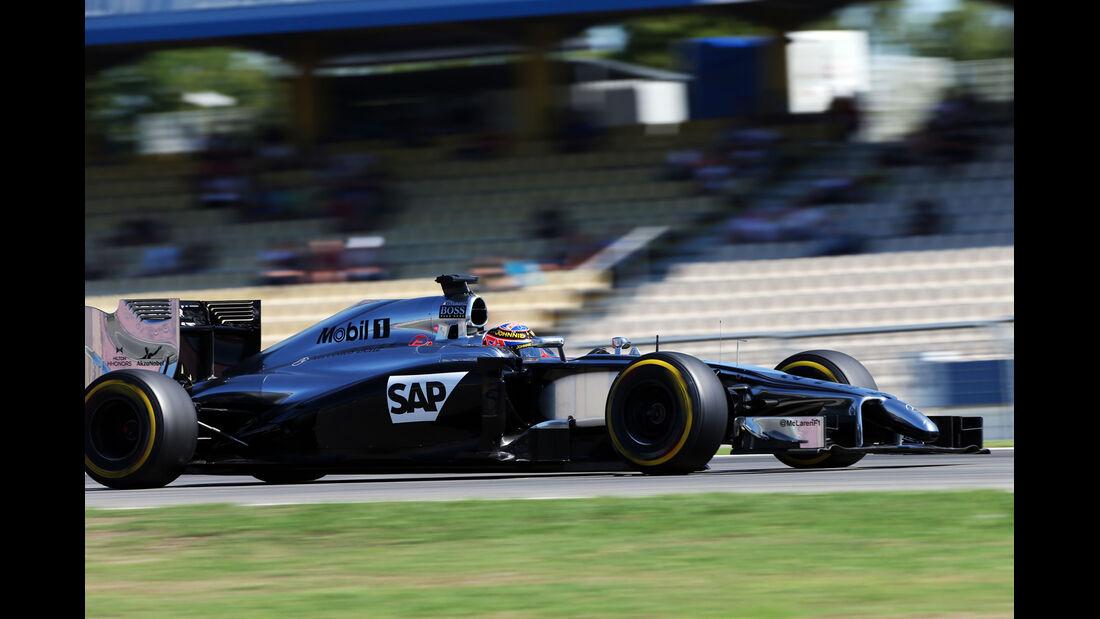 Jenson Button - McLaren - Formel 1 - GP Deutschland - Hockenheim - 18. Juli 2014