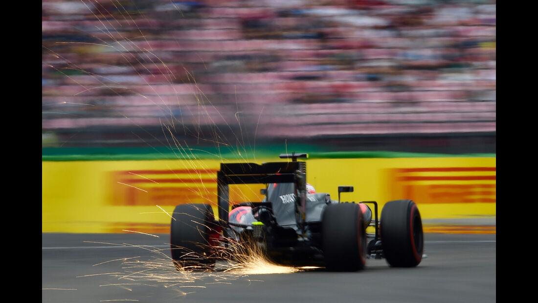 Jenson Button - McLaren - Formel 1 - GP Deutschland - Hockenheim - 29. Juli 2016