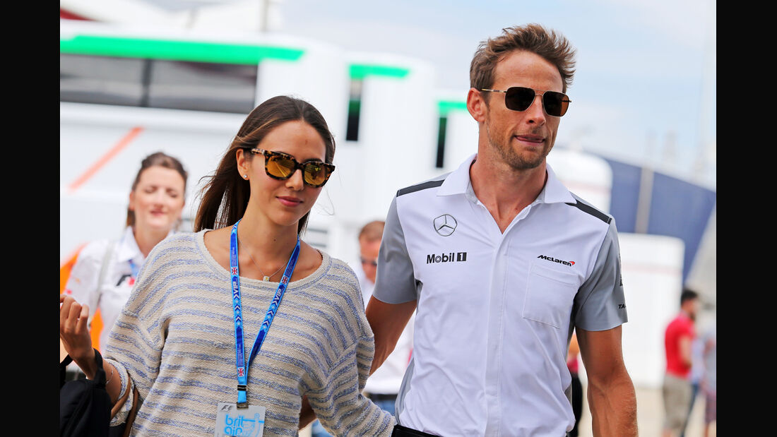 Jenson Button - McLaren - Formel 1 - GP England - Silverstone - 3. Juli 2014