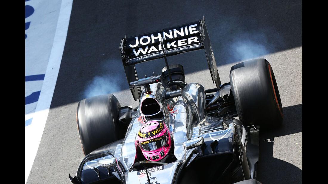Jenson Button - McLaren - Formel 1 - GP England - Silverstone - 4. Juli 2014