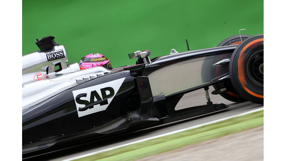 Jenson Button  - McLaren - Formel 1 - GP Italien - 5. September 2014