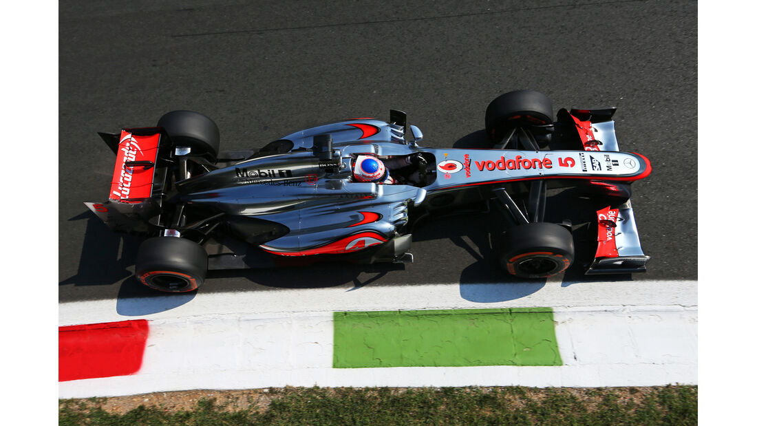 Jenson Button - McLaren - Formel 1 - GP Italien - 6. September 2013