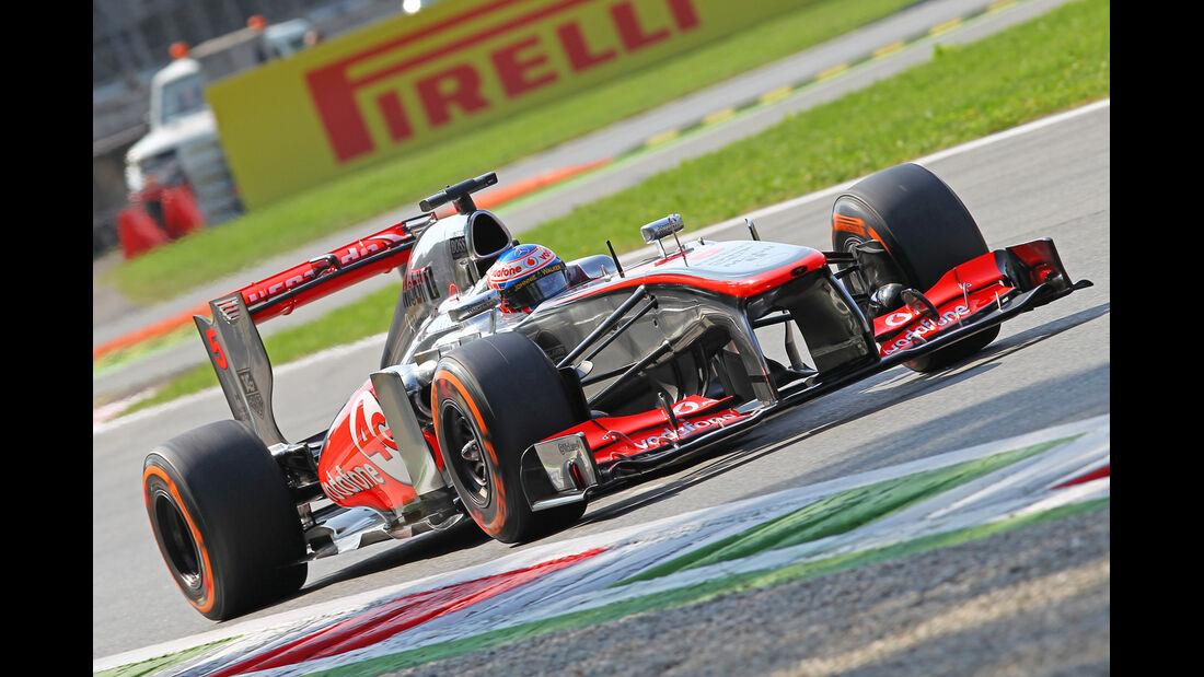 Jenson Button - McLaren - Formel 1 - GP Italien - 7. September 2013