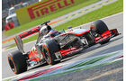 Jenson Button - McLaren - Formel 1 - GP Italien - 7. September 2013