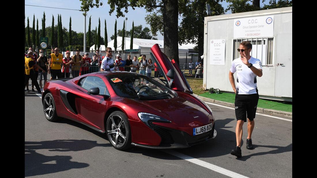Jenson Button - McLaren - Formel 1 - GP Italien - Monza - 1. September 2016