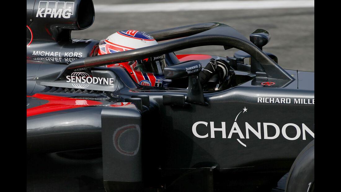 Jenson Button - McLaren - Formel 1 - GP Italien - Monza - 2. September 2016