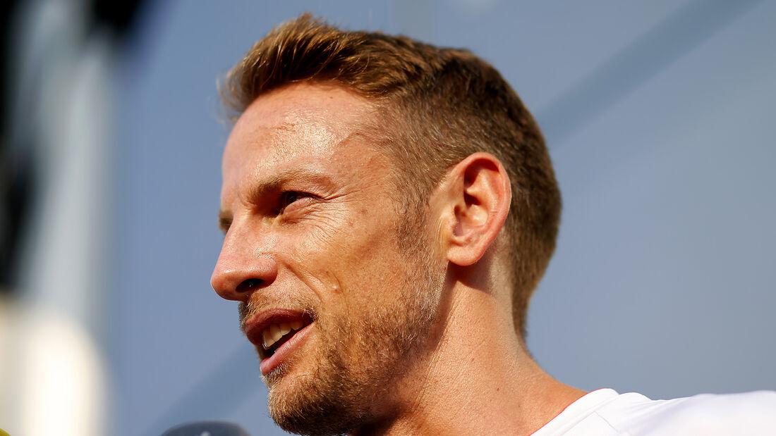 Jenson Button - McLaren - Formel 1 - GP Italien - Monza - 3. September 2016