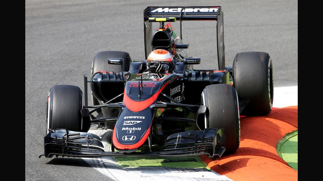 Jenson Button - McLaren - Formel 1 - GP Italien - Monza - 4. September 2015