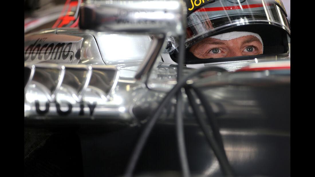 Jenson Button - McLaren - Formel 1 - GP Japan - 12. Oktober 2013