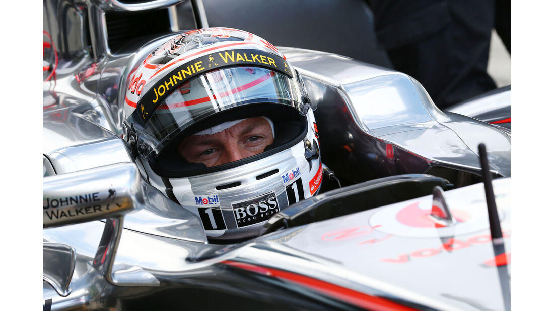 Jenson Button - McLaren - Formel 1 - GP Japan 2013