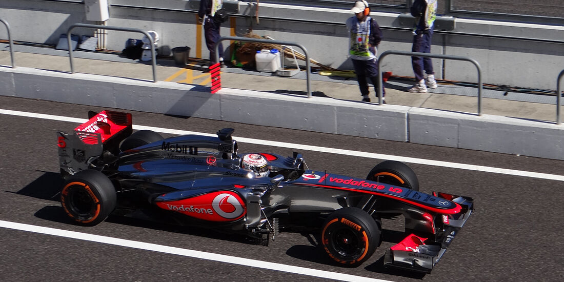 Jenson Button - McLaren - Formel 1 - GP Japan 2013