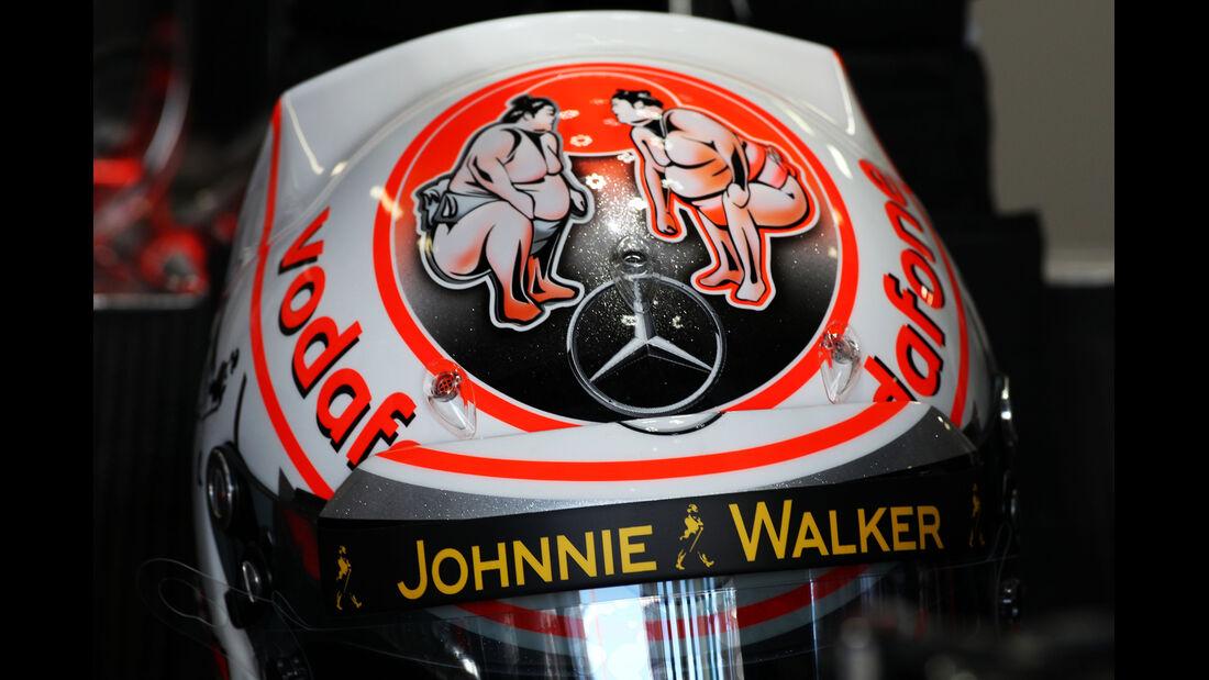 Jenson Button - McLaren - Formel 1 - GP Japan - Suzuka - 11. Oktober 2013