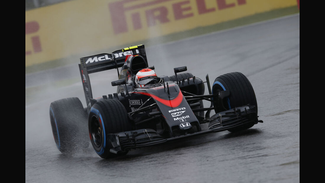 Jenson Button - McLaren - Formel 1 - GP Japan - Suzuka - 25. September 2015