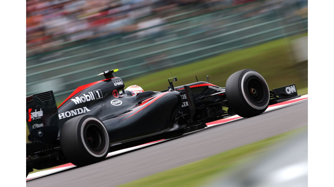 Jenson Button - McLaren - Formel 1 - GP Japan - Suzuka - 26. September 2015