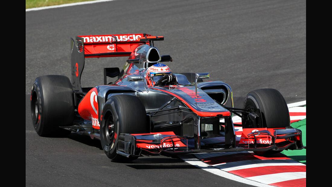 Jenson Button - McLaren - Formel 1 - GP Japan - Suzuka - 5. Oktober 2012