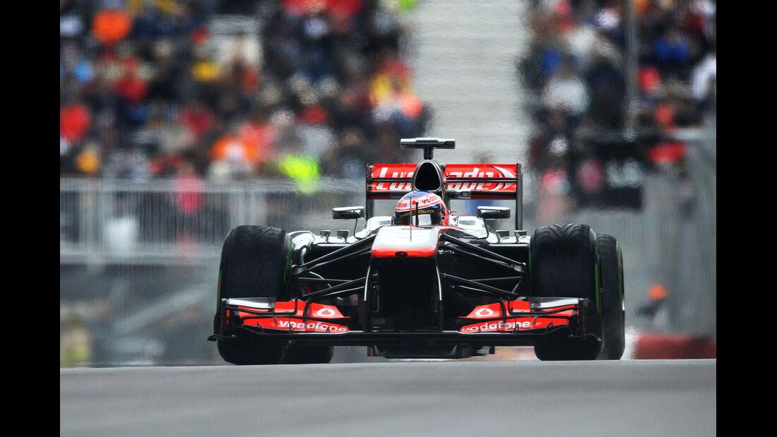 Jenson Button - McLaren - Formel 1 - GP Kanada - 8. Juni 2013