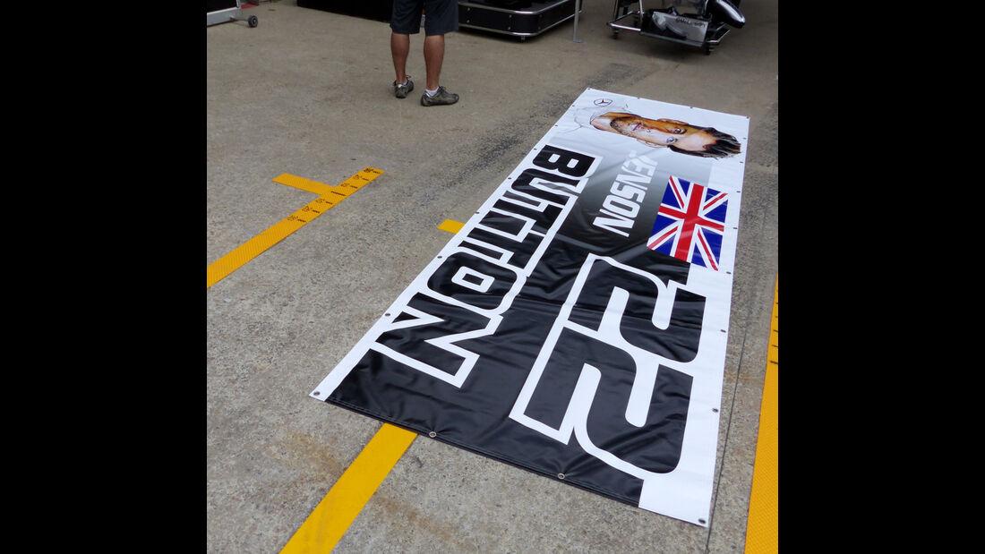 Jenson Button - McLaren - Formel 1 - GP Kanada - Montreal - 4. Juni 2014