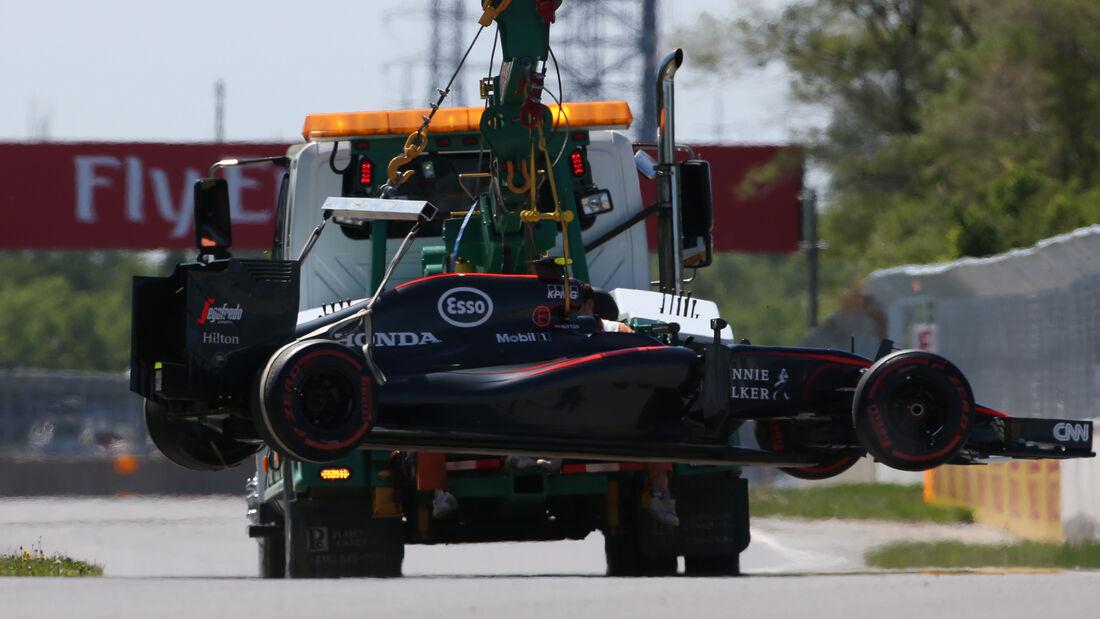 Jenson Button - McLaren - Formel 1 - GP Kanada - Montreal - 6. Juni 2015