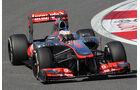 Jenson Button - McLaren- Formel 1 - GP Korea - 4. Oktober 2013