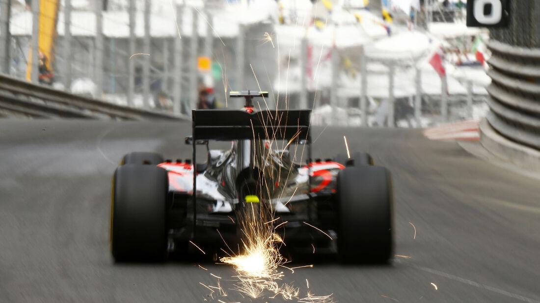 Jenson Button - McLaren - Formel 1 - GP Monaco - 21. Mai 2015