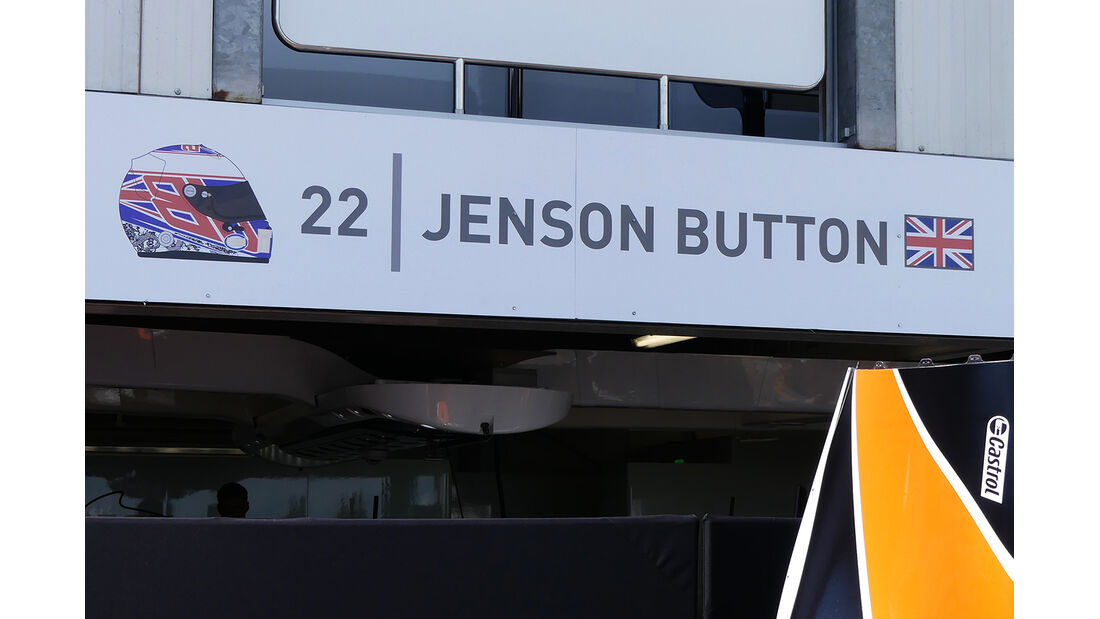 Jenson Button - McLaren - Formel 1 - GP Monaco - 23. Mai 2017