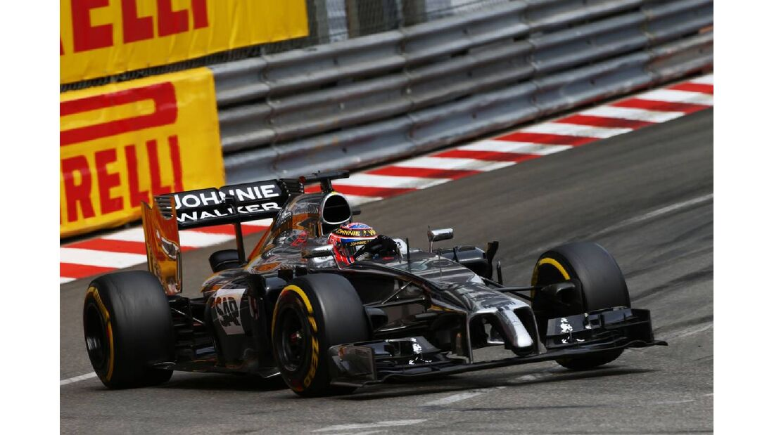 Jenson Button - McLaren  - Formel 1 - GP Monaco - 25. Mai 2014