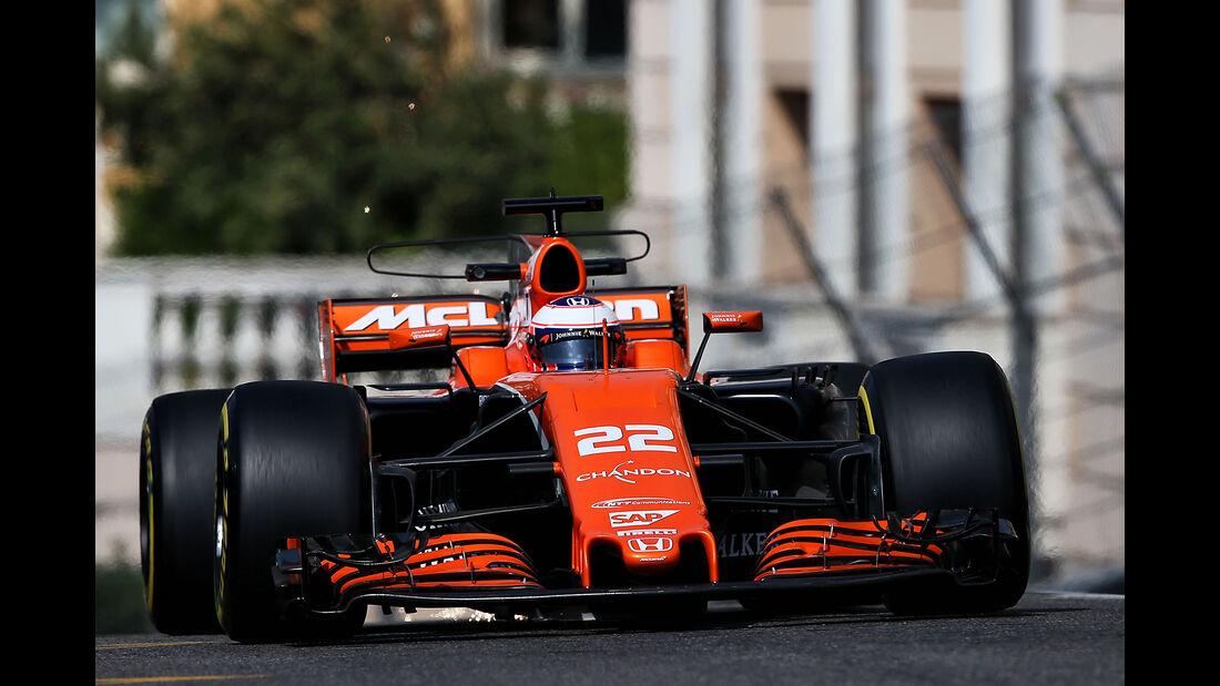 Jenson Button - McLaren - Formel 1 - GP Monaco - 25. Mai 2017
