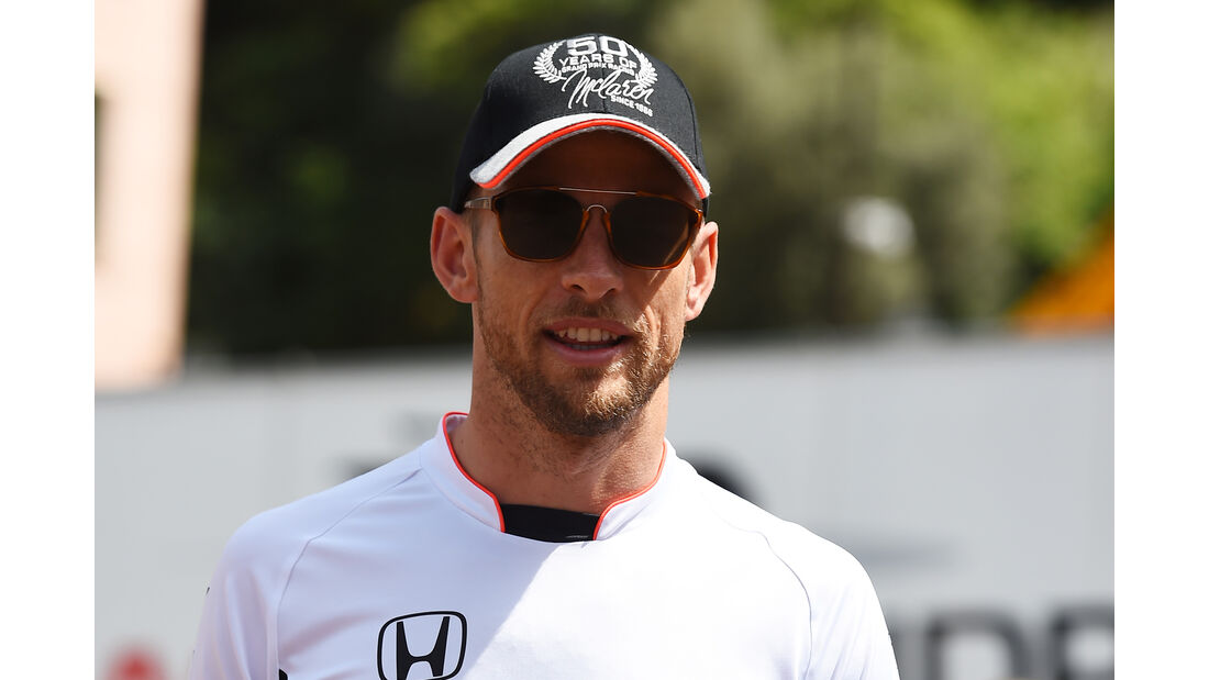 Jenson Button - McLaren - Formel 1 - GP Monaco - 27. Mai 2016