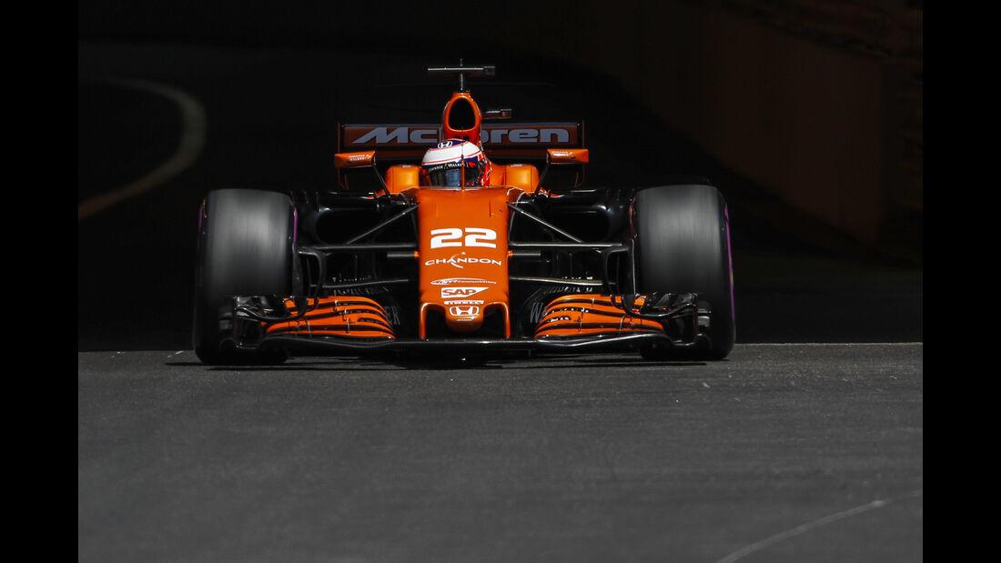 Jenson Button - McLaren - Formel 1 - GP Monaco - 27. Mai 2017