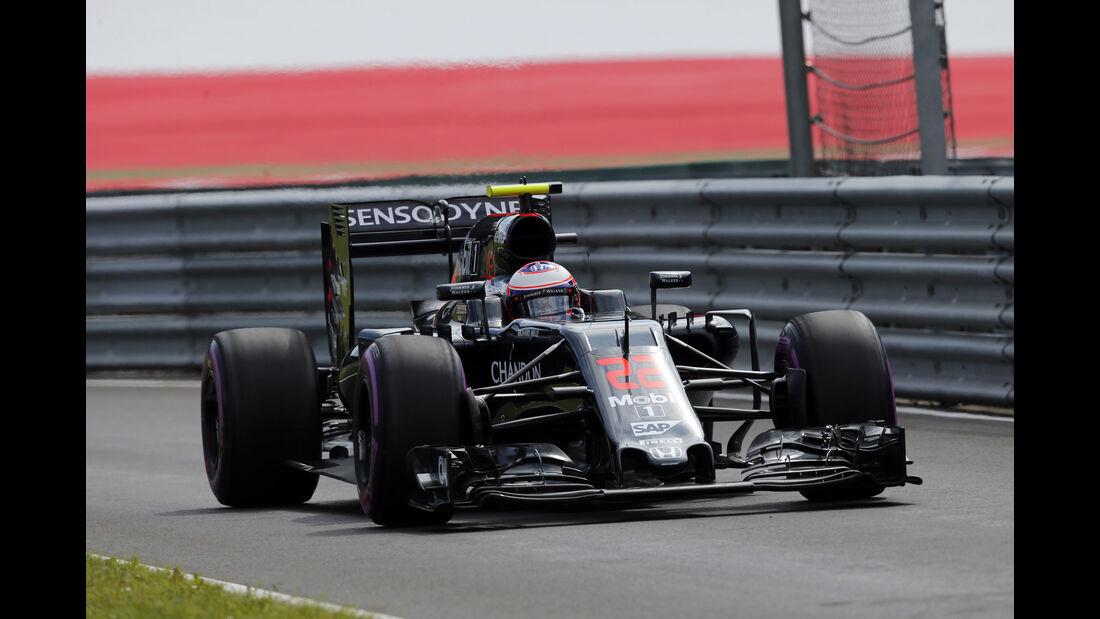 Jenson Button - McLaren - Formel 1 - GP Österreich - 1. Juli 2016