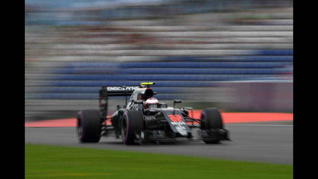 Jenson Button  - McLaren - Formel 1 - GP Österreich - 2. Juli 2016