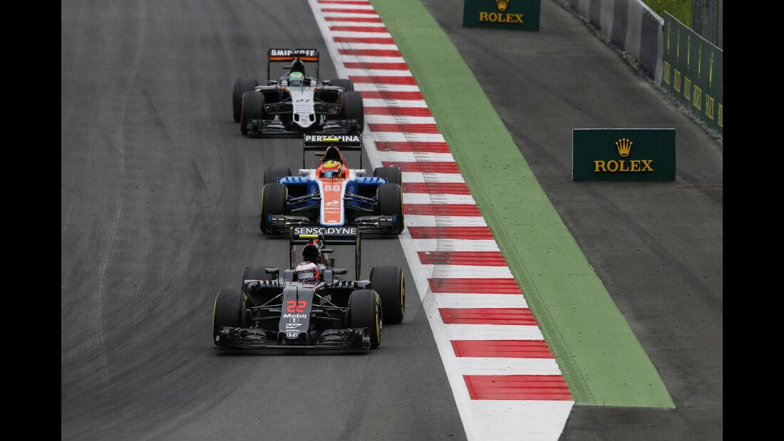 Jenson Button - McLaren - Formel 1 - GP Österreich - 3. Juli 2016