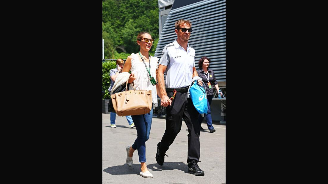 Jenson Button - McLaren - Formel 1 - GP Österreich - Spielberg - 19. Juni 2014