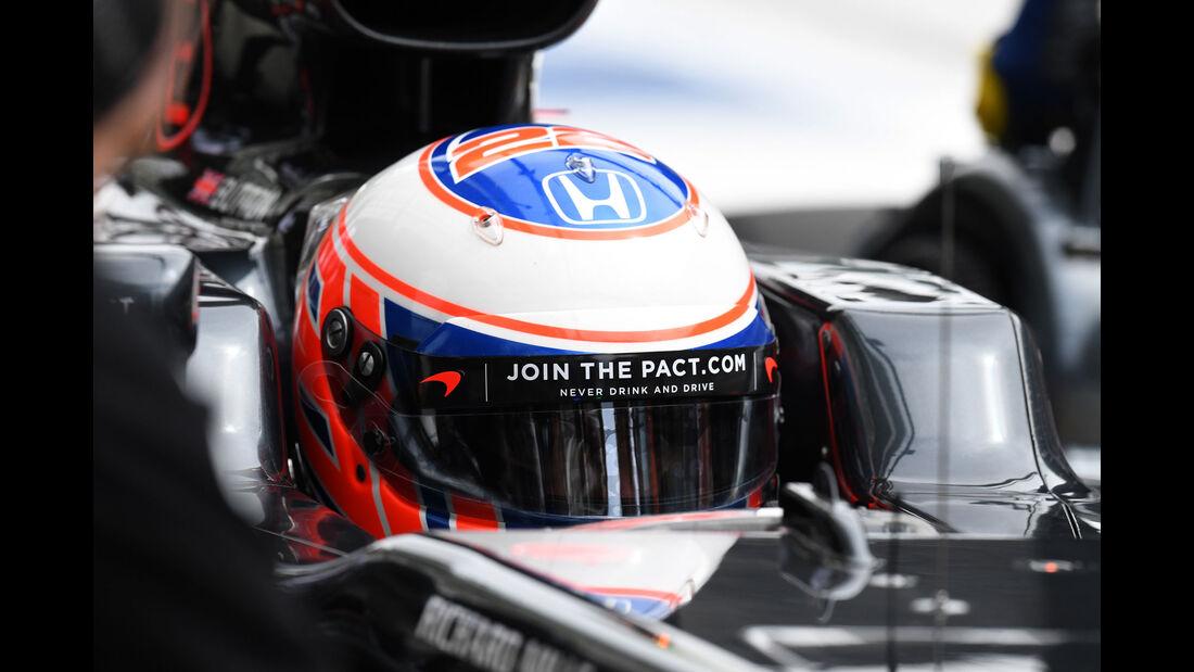 Jenson Button - McLaren - Formel 1 - GP Russland - 29. April 2016
