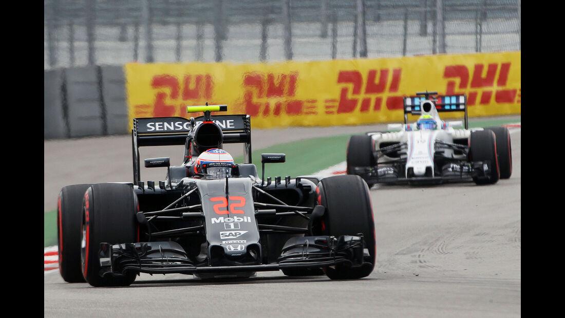 Jenson Button - McLaren - Formel 1 - GP Russland - 30. April 2016