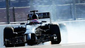 Jenson Button - McLaren - Formel 1 - GP Russland - Sochi - 10. Oktober 2014