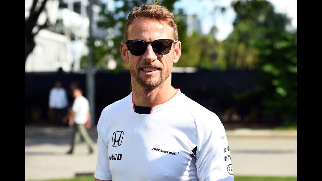 Jenson Button - McLaren - Formel 1 - GP Singapur - 15. Septemberg 2016