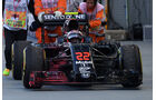 Jenson Button - McLaren - Formel 1 - GP Singapur - 16. September 2016