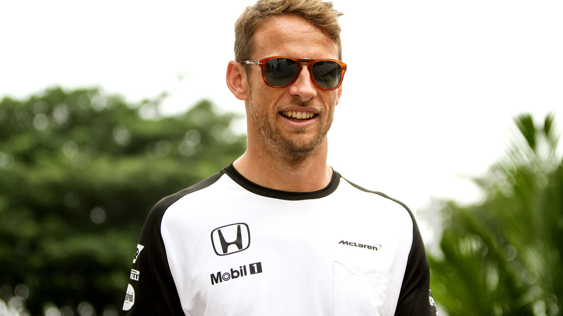 Jenson Button - McLaren - Formel 1 - GP Singapur - 17. September 2015