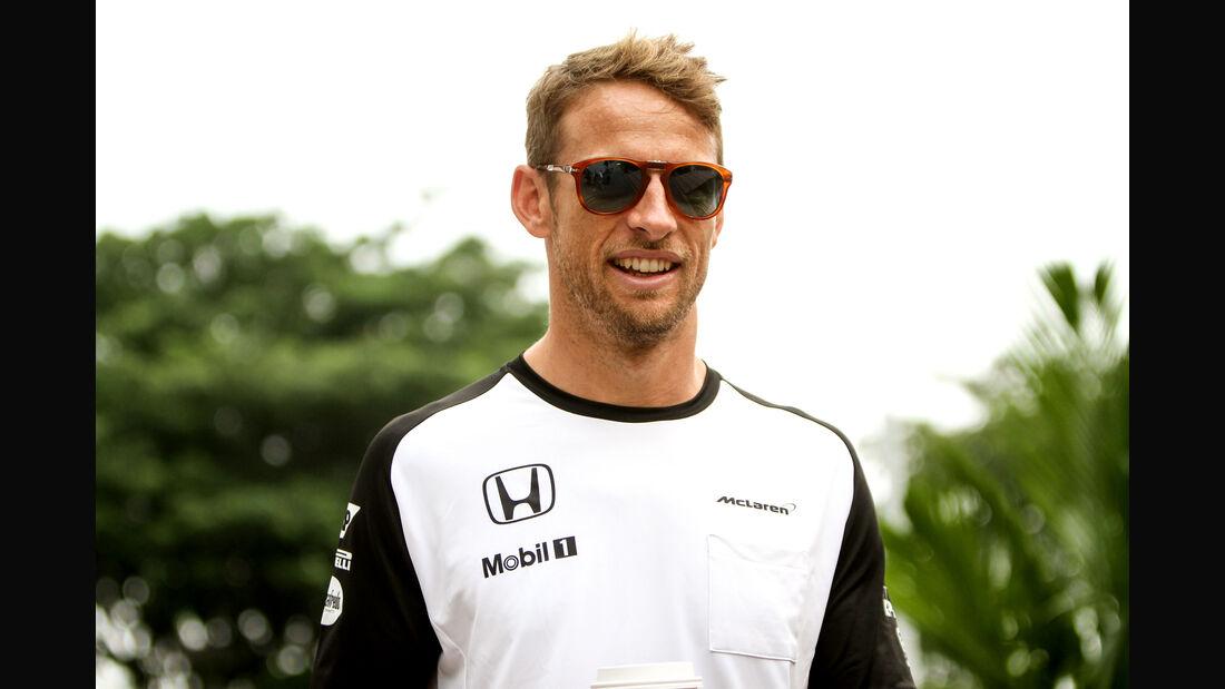 Jenson Button - McLaren - Formel 1 - GP Singapur - 17. September 2015