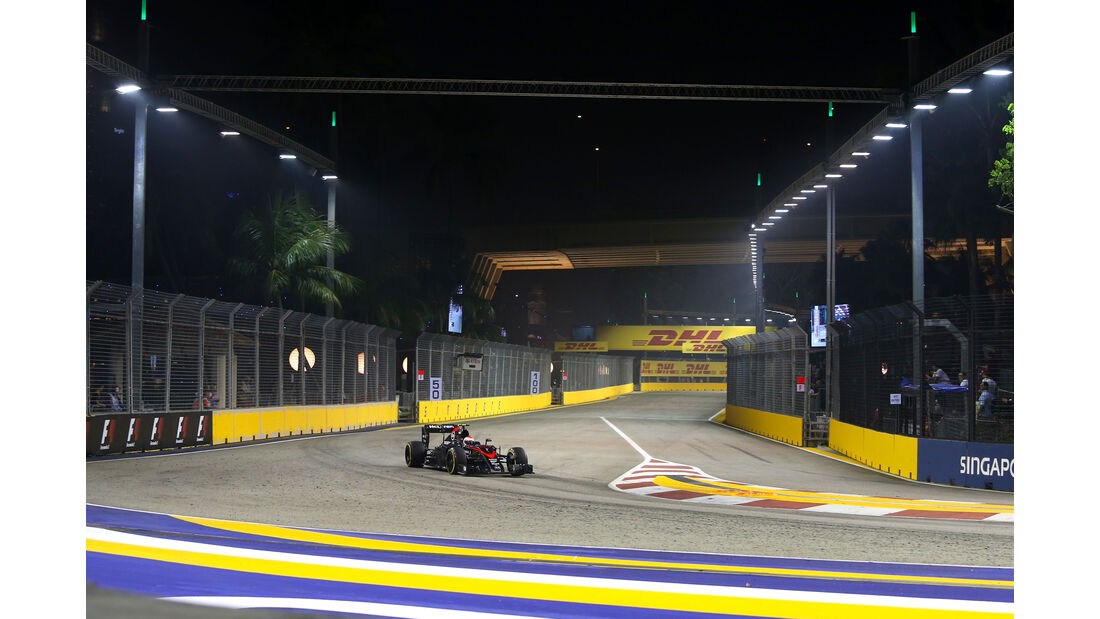 Jenson Button - McLaren - Formel 1 - GP Singapur - 18. September 2015
