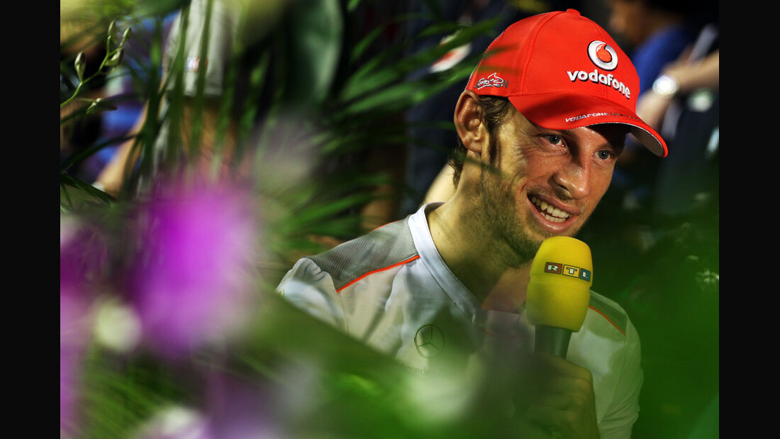 Jenson Button - McLaren - Formel 1 - GP Singapur - 20. September 2012