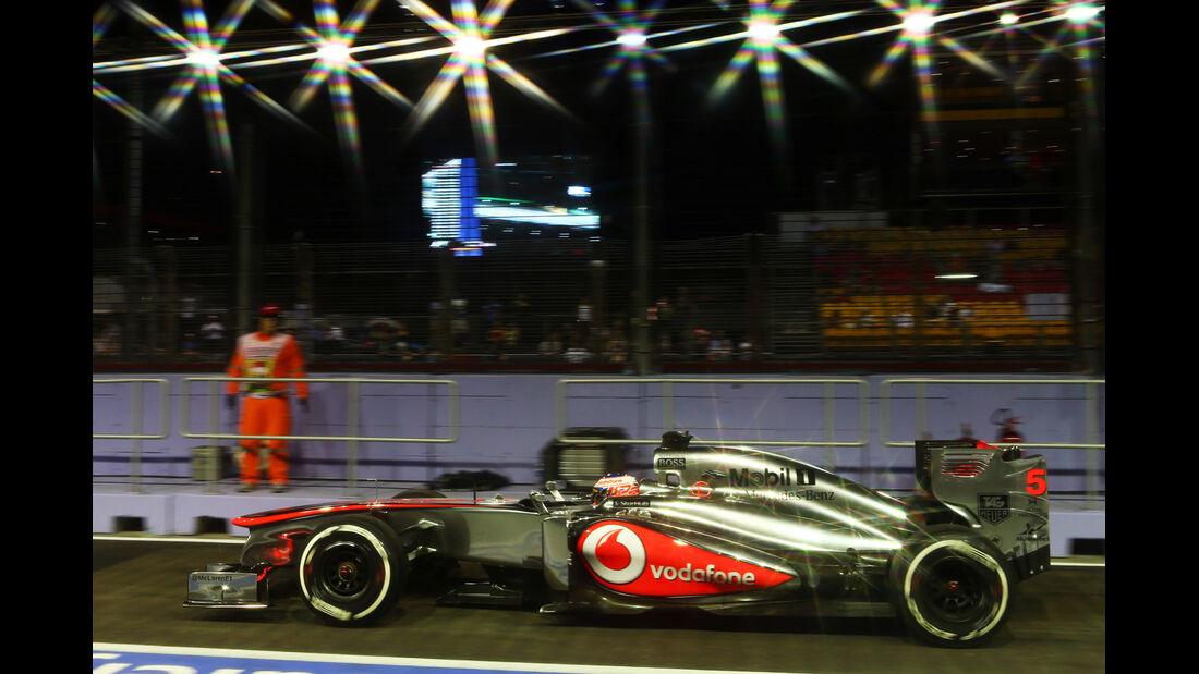 Jenson Button - McLaren - Formel 1 - GP Singapur - 20. September 2013