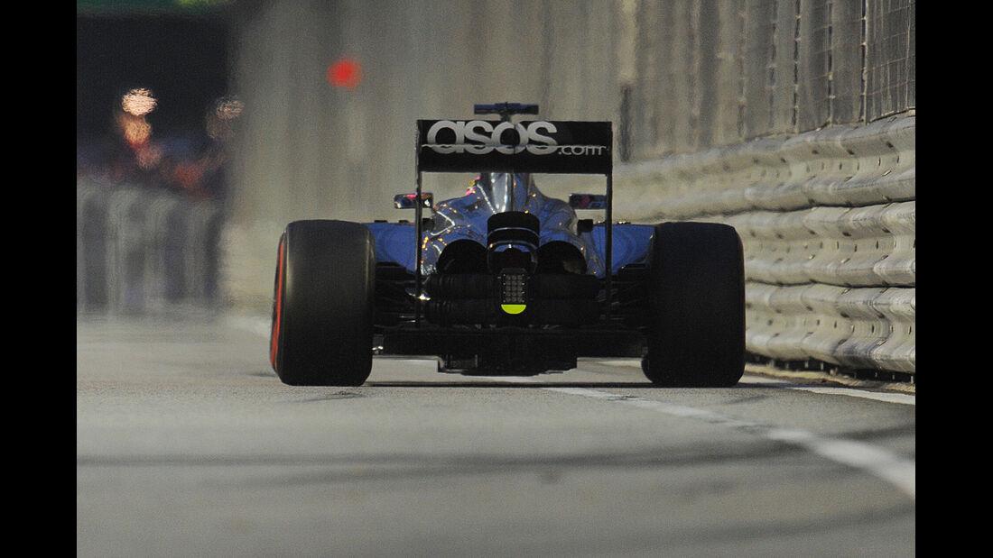 Jenson Button - McLaren  - Formel 1 - GP Singapur - 20. September 2014