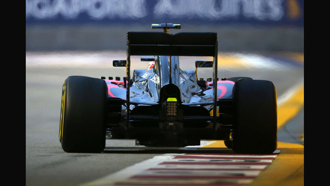 Jenson Button - McLaren - Formel 1 - GP Singapur - 20. September 2015