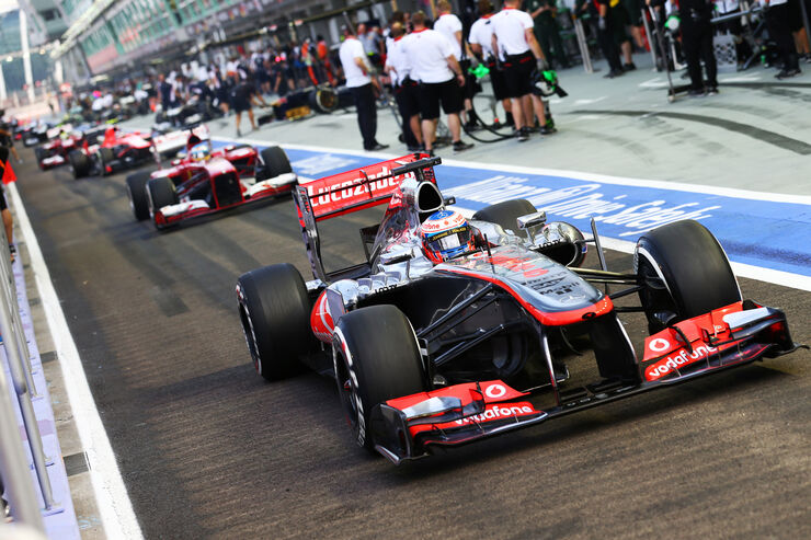 Jenson Button - McLaren - Formel 1 - GP Singapur - 21. September 2013