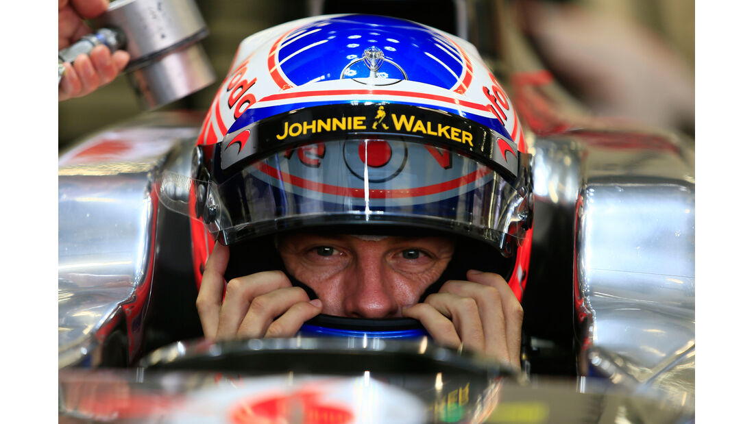 Jenson Button - McLaren - Formel 1 - GP Singapur - 22. September 2012