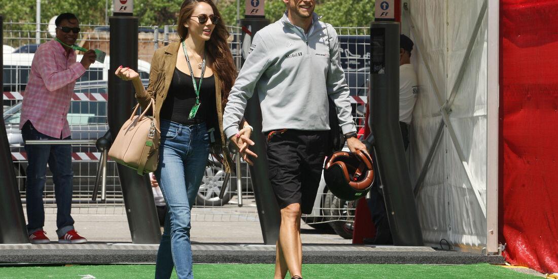 Jenson Button - McLaren - Formel 1 - GP Spanien - Barcelona - 8. Mai 2014