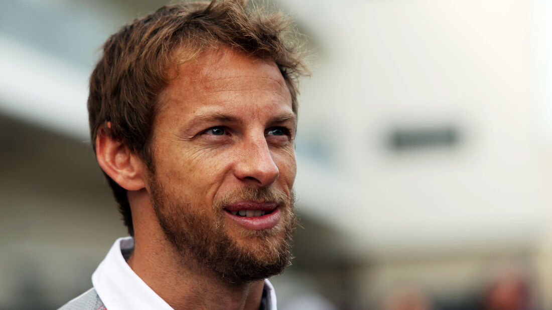 Jenson Button - McLaren - Formel 1 - GP USA - 14. November 2013