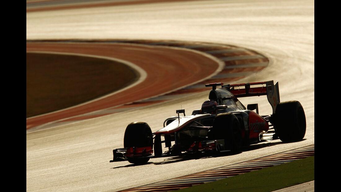 Jenson Button - McLaren - Formel 1 - GP USA - Austin - 17. November 2012